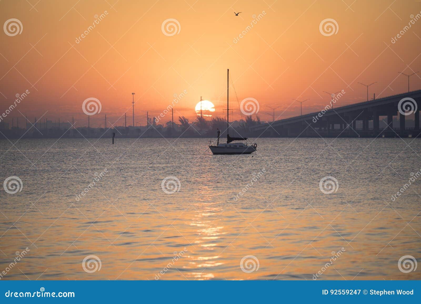 Il sole sopra il fiume