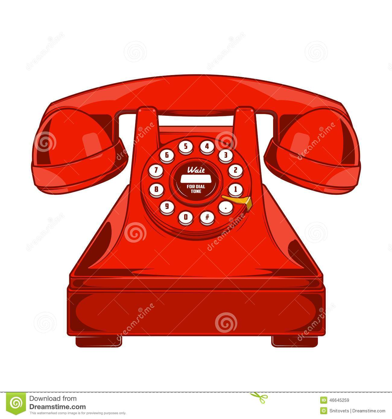 Telefono rosso red telephone 1