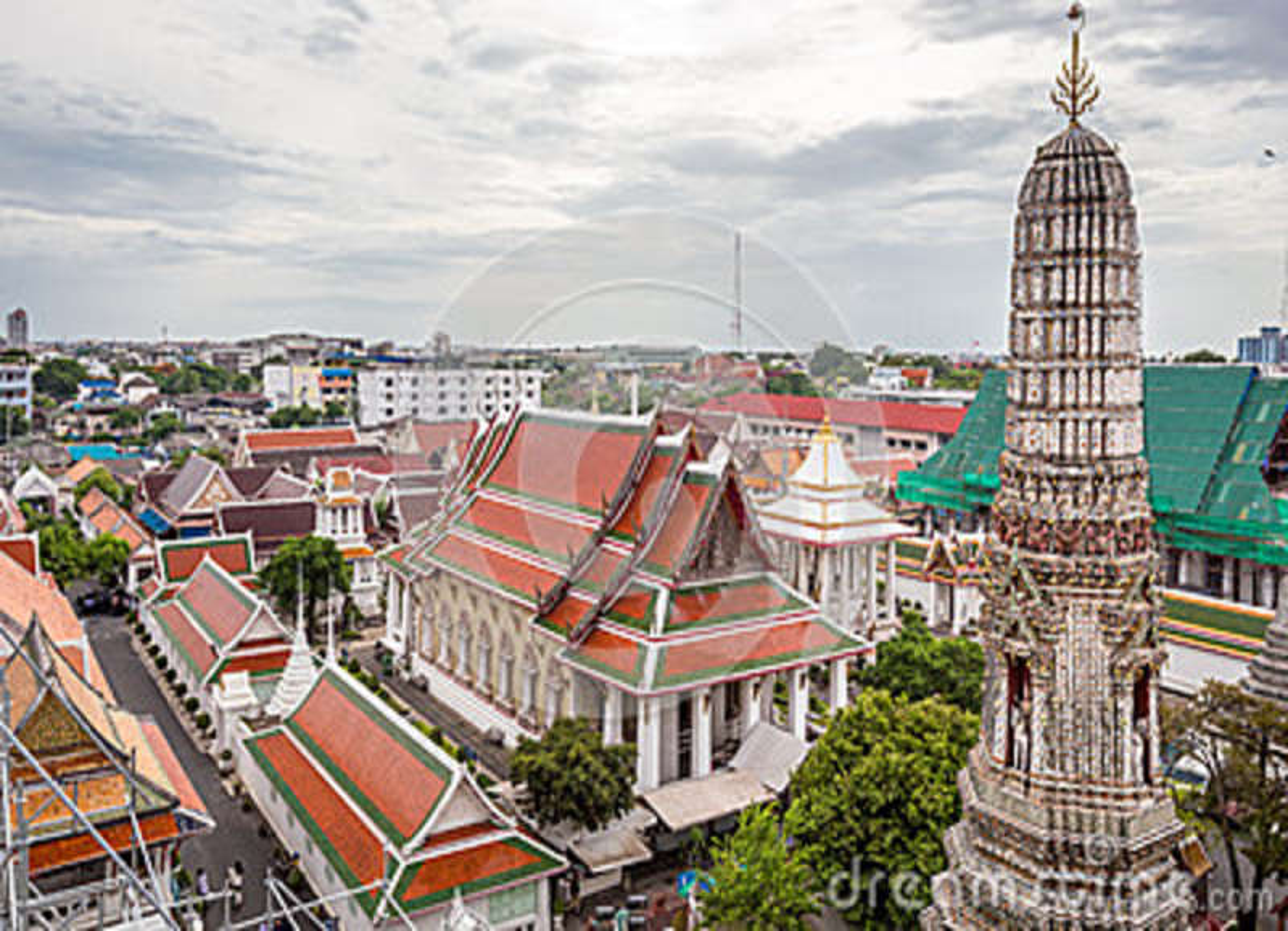 Il Temple of Dawn, Wat Arun Thailand