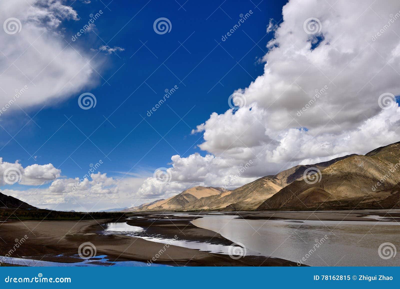 Il Tibet il Brahmaputra