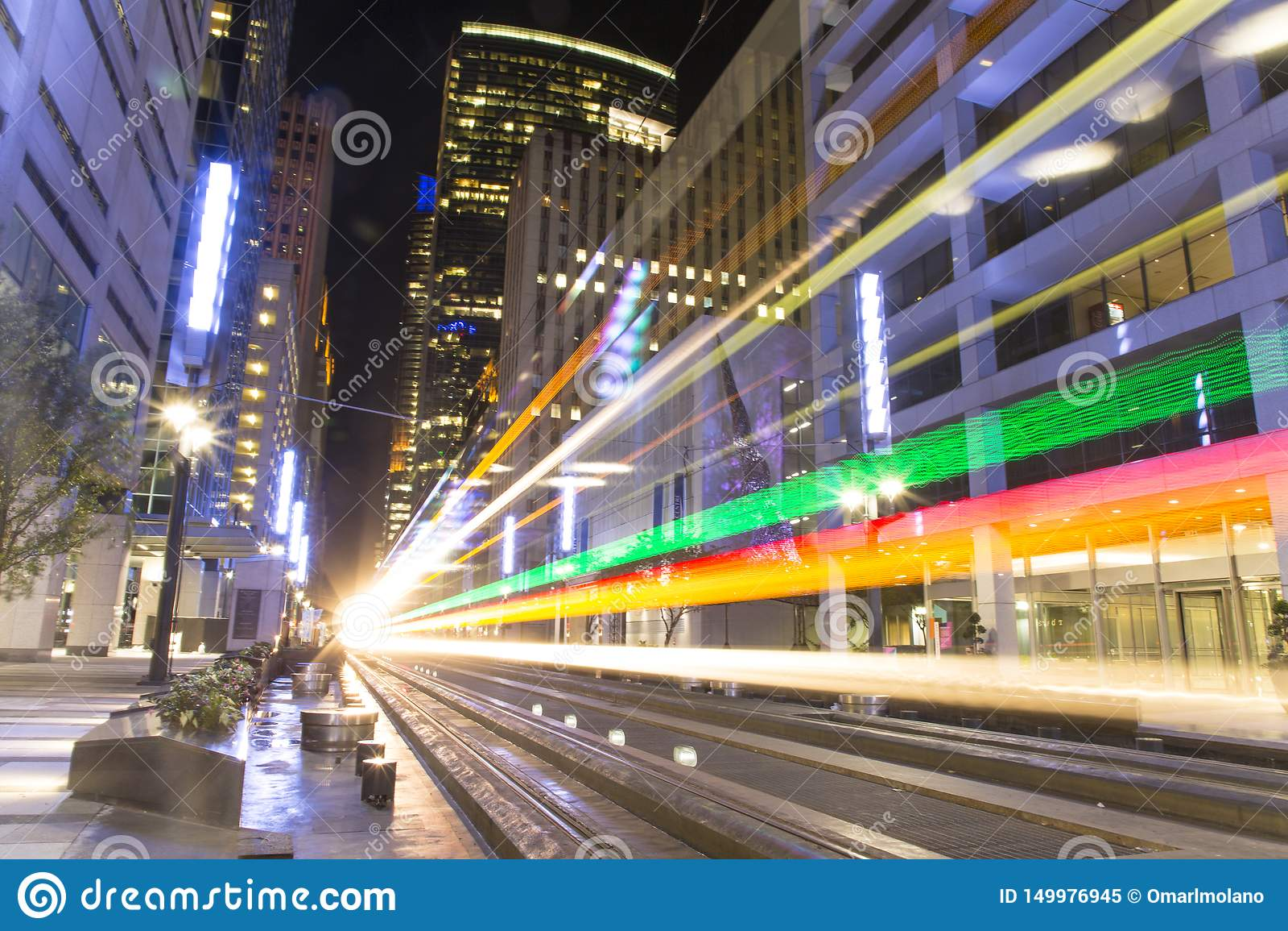 Il tram dal tram a Houston