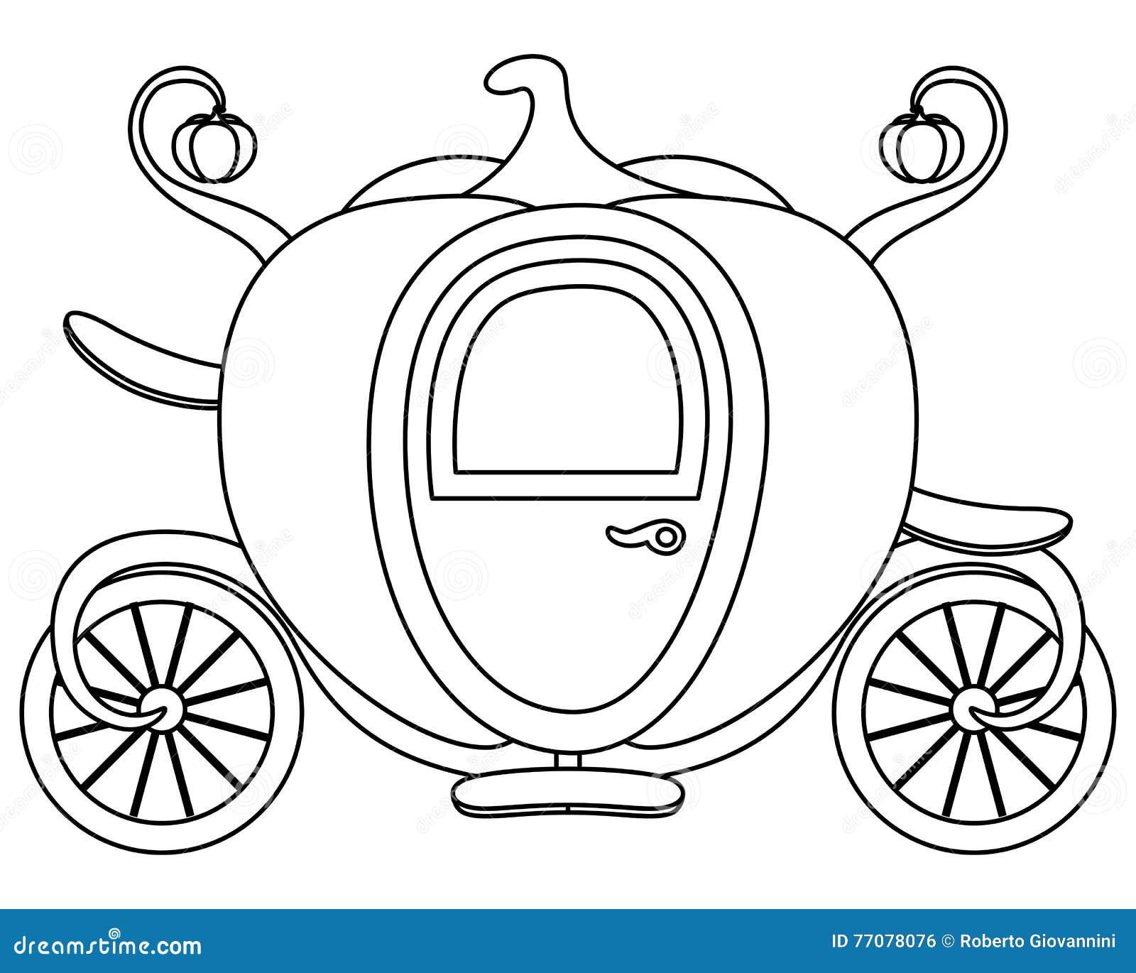 santa horse buggy coloring pages - photo#27