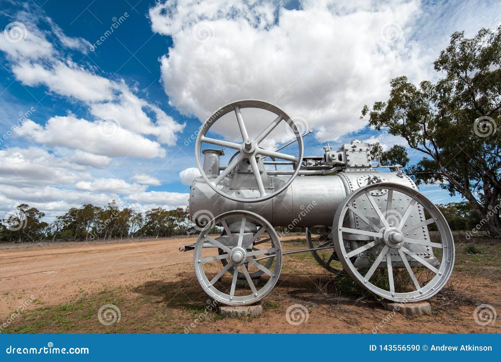 Il vecchio motore a vapore repurposed