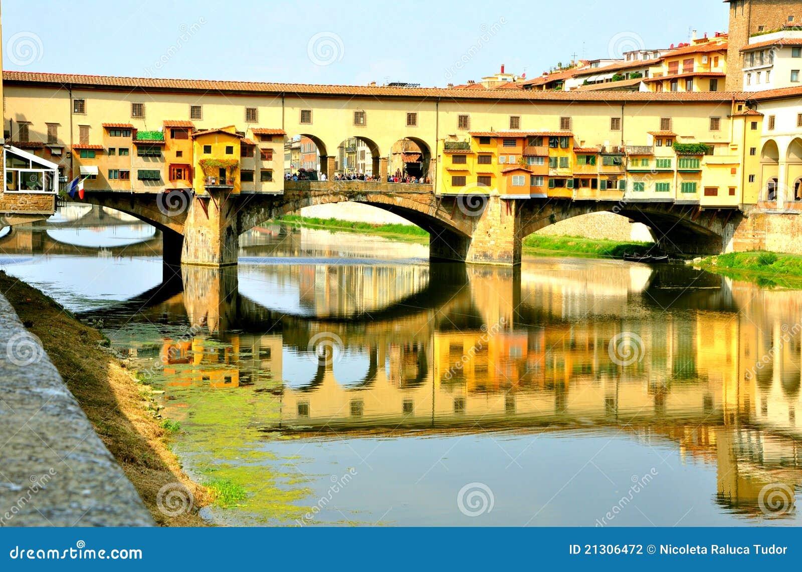 Il vecchio ponticello, Firenze, Italia