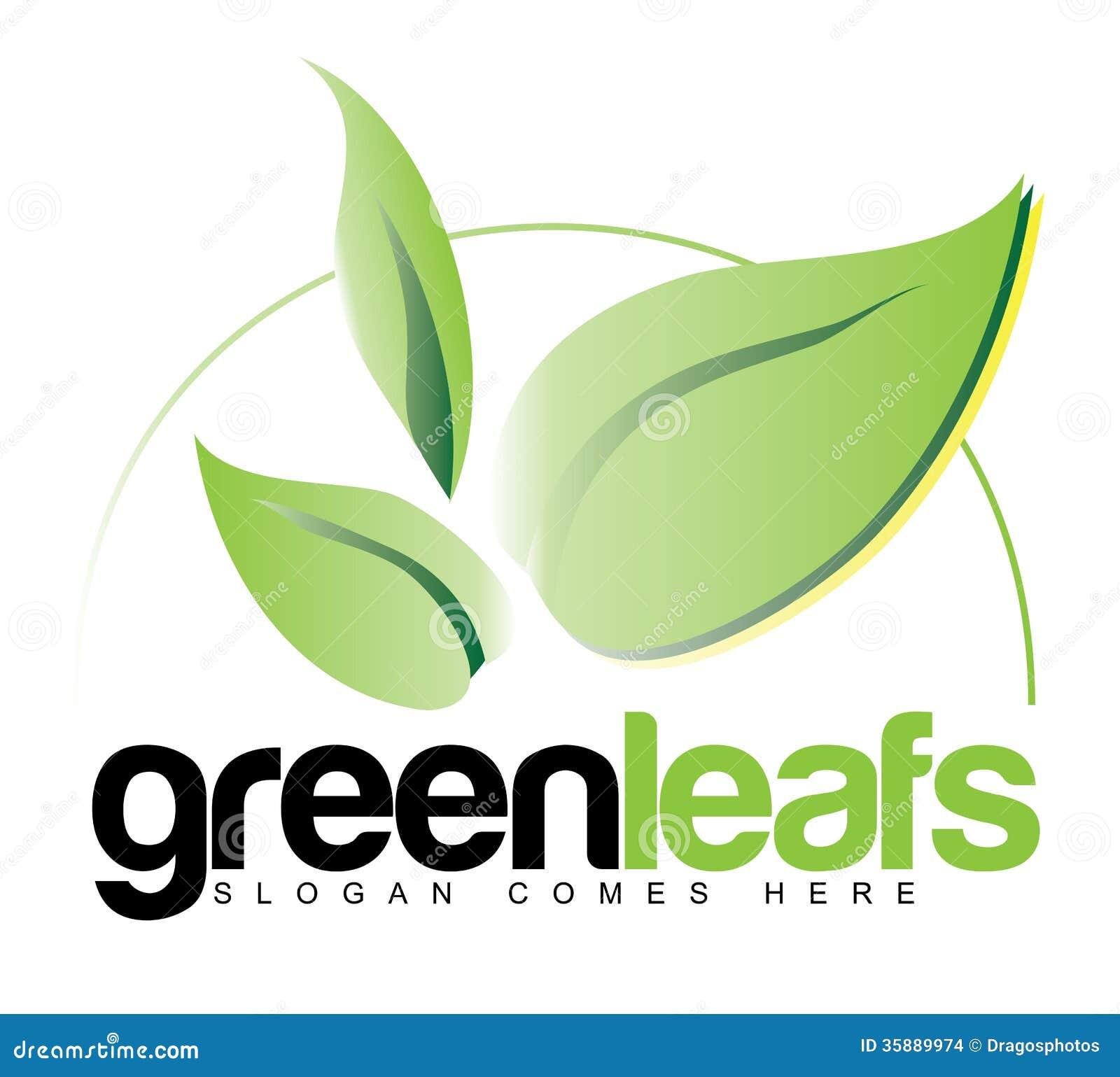 Book logos stock vector image 42714029 - Il Verde Copre Di Foglie Logo Concept Immagini Stock