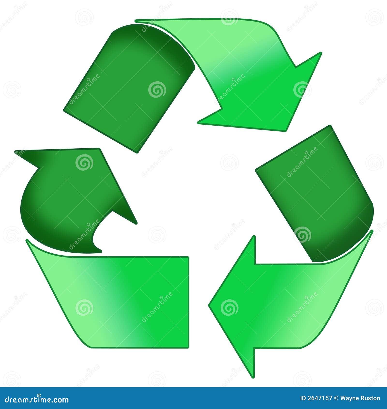 Il verde ricicla il simbolo