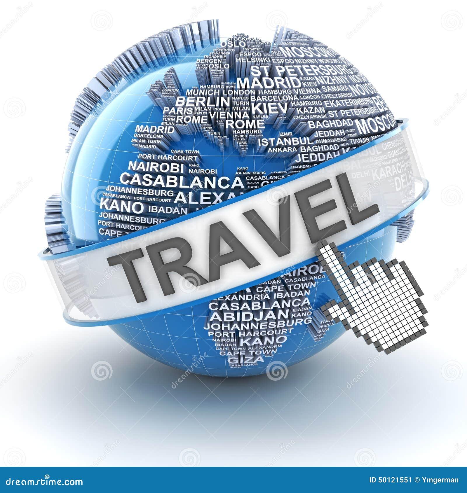 Il viaggio globale, 3d rende