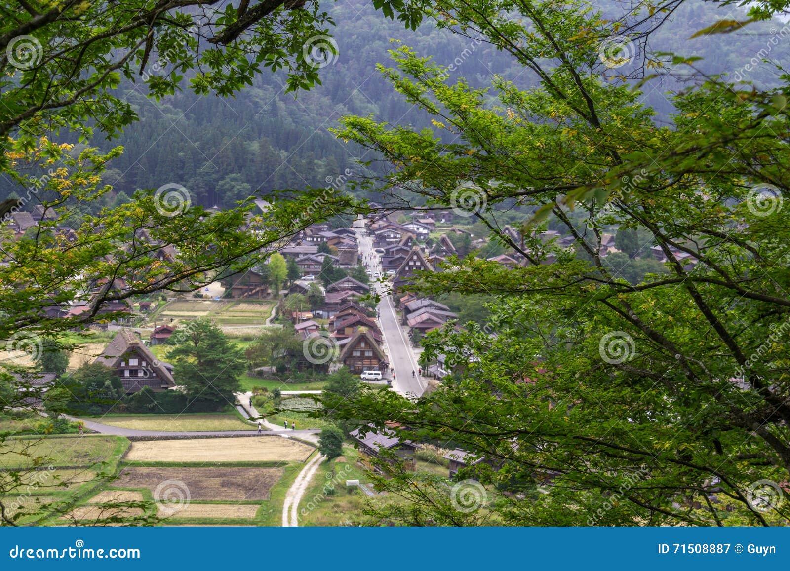 Case tradizionali giapponesi: visita di shirakawa go il villaggio ...