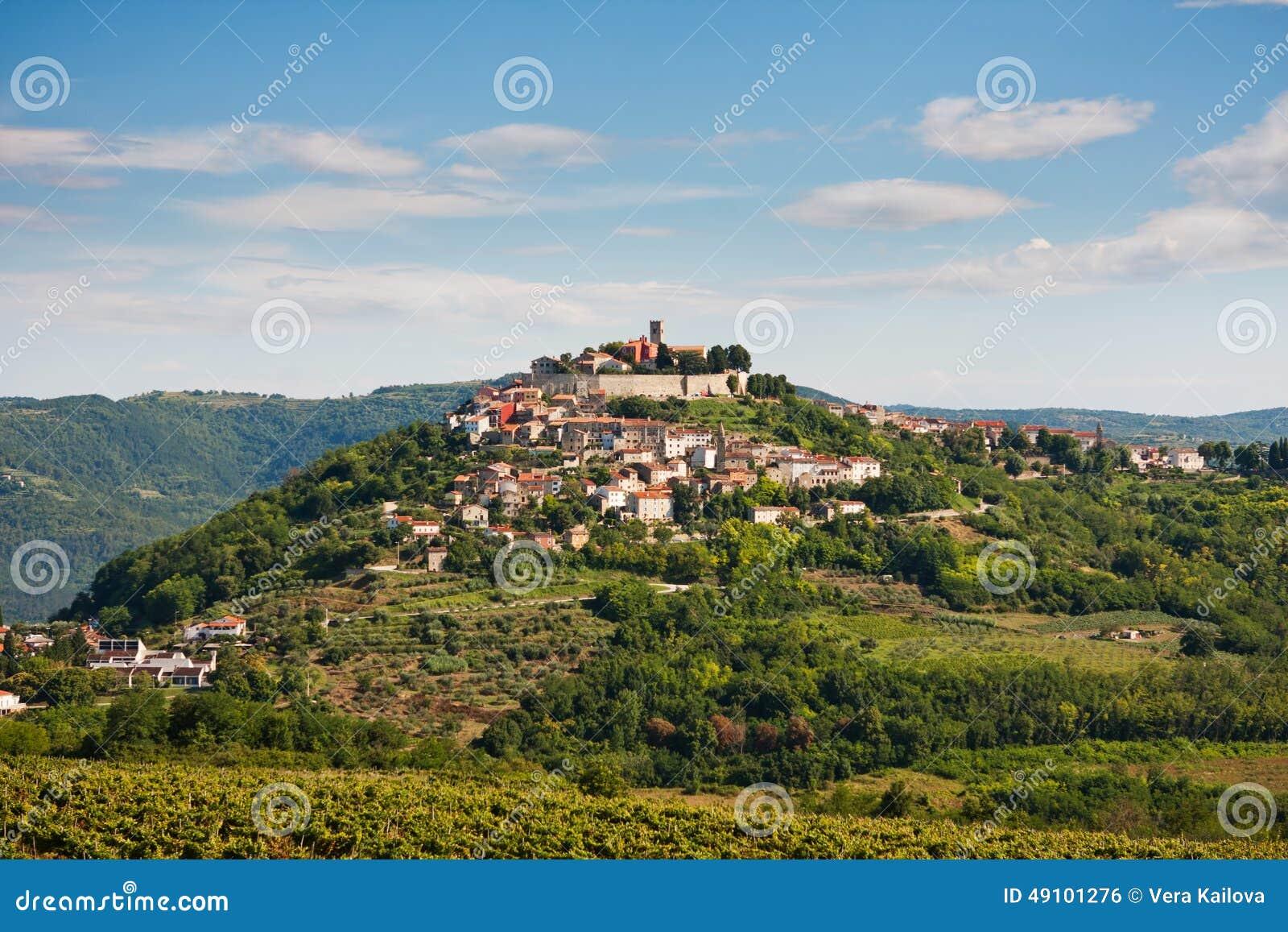 Il villaggio Motovun