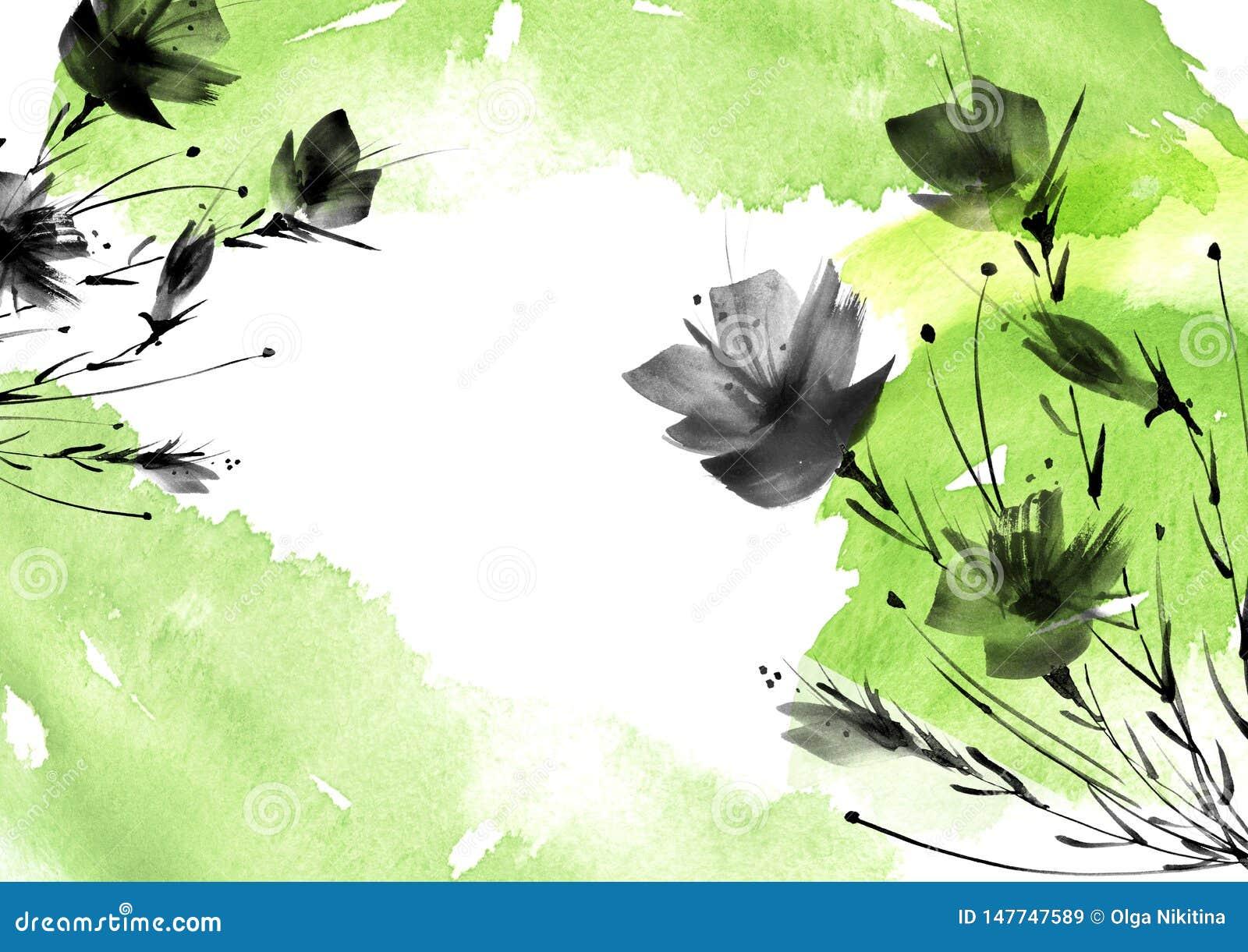 Ild kwiaty, pole, ogr?d - leluja, sylwetka maczki, r??e