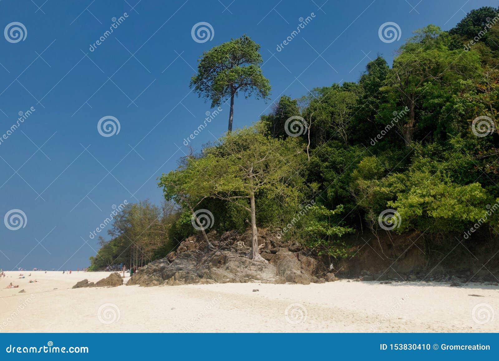 Ile de la Province de Krabi, Thaïlande