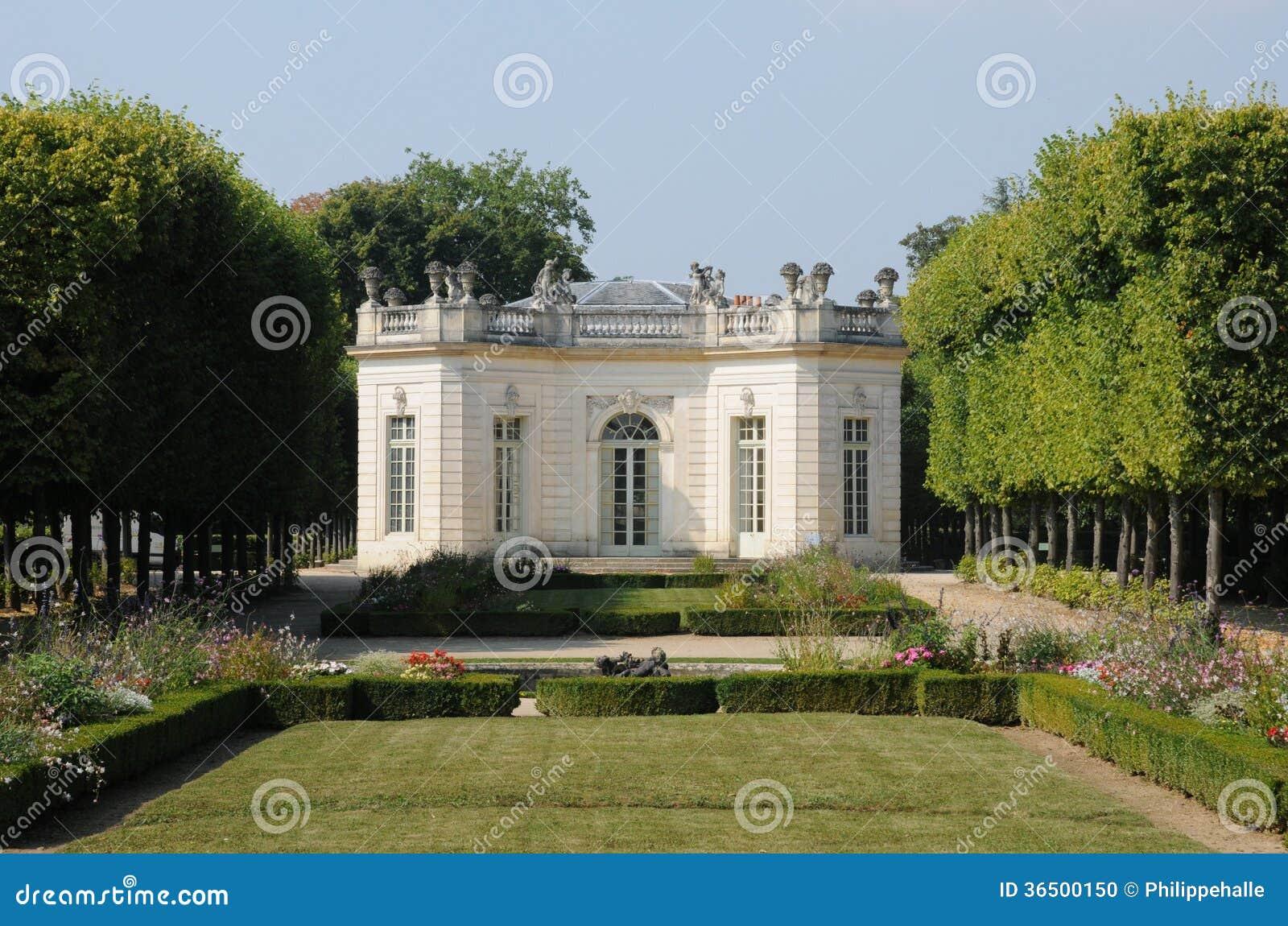 Ile de France, le pavillon français en domaine de Marie Antoinette