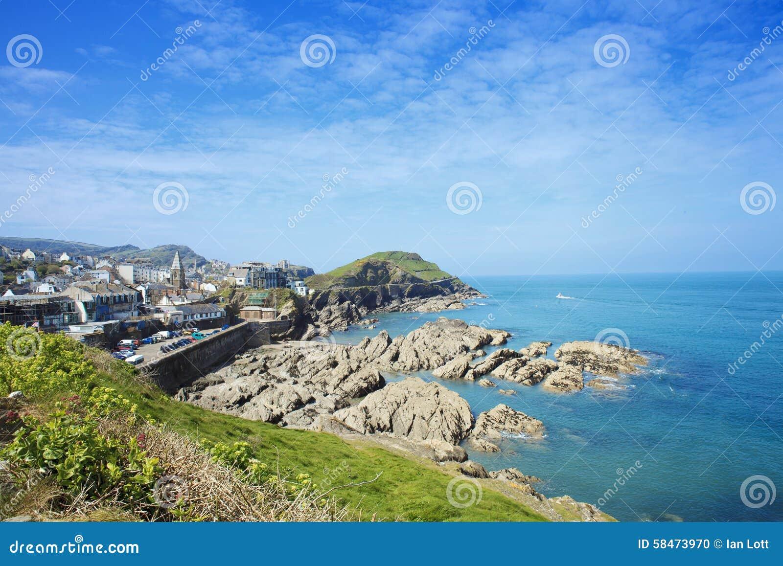 Ilfracombe on the North Devon coast, England