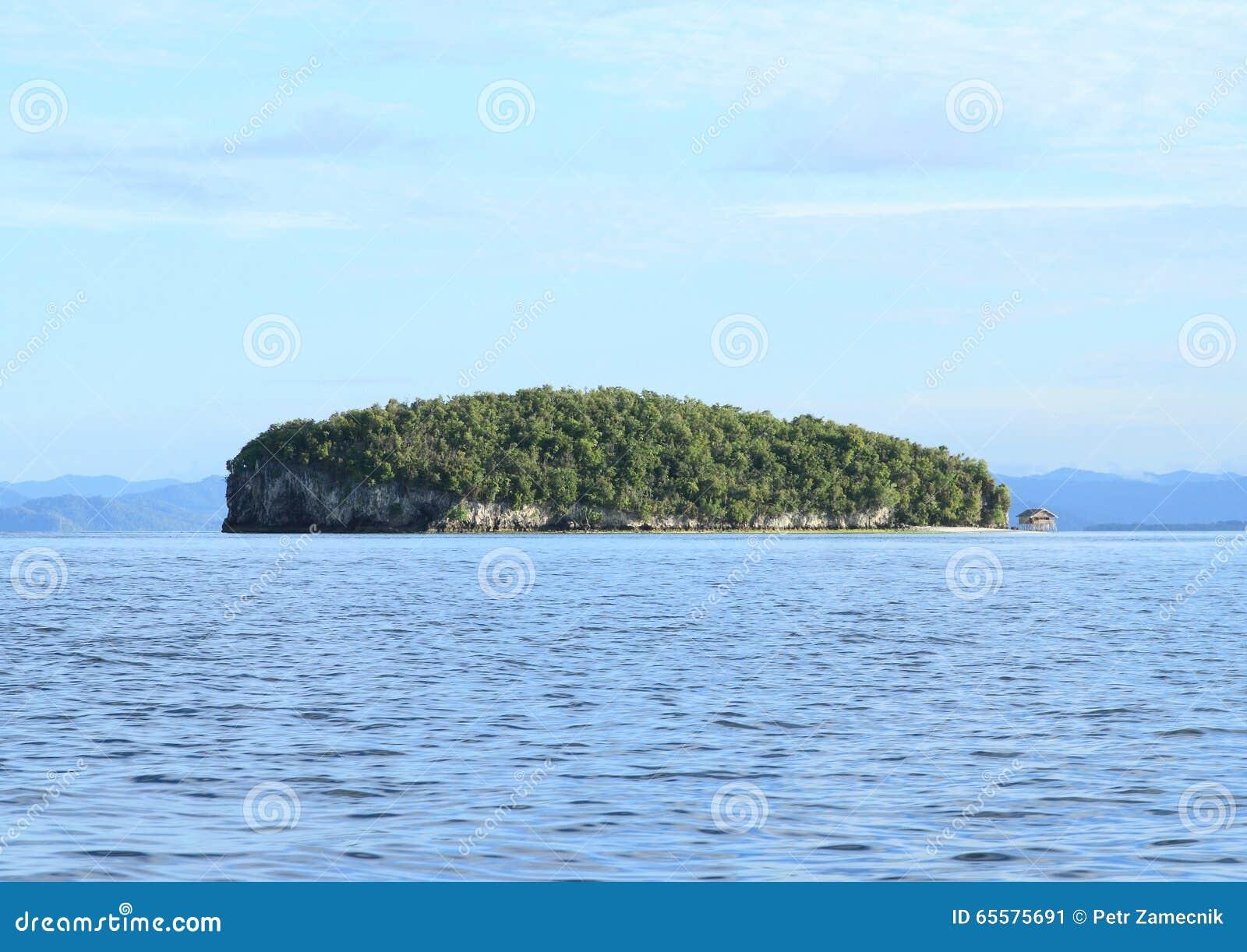 Ilha com monte