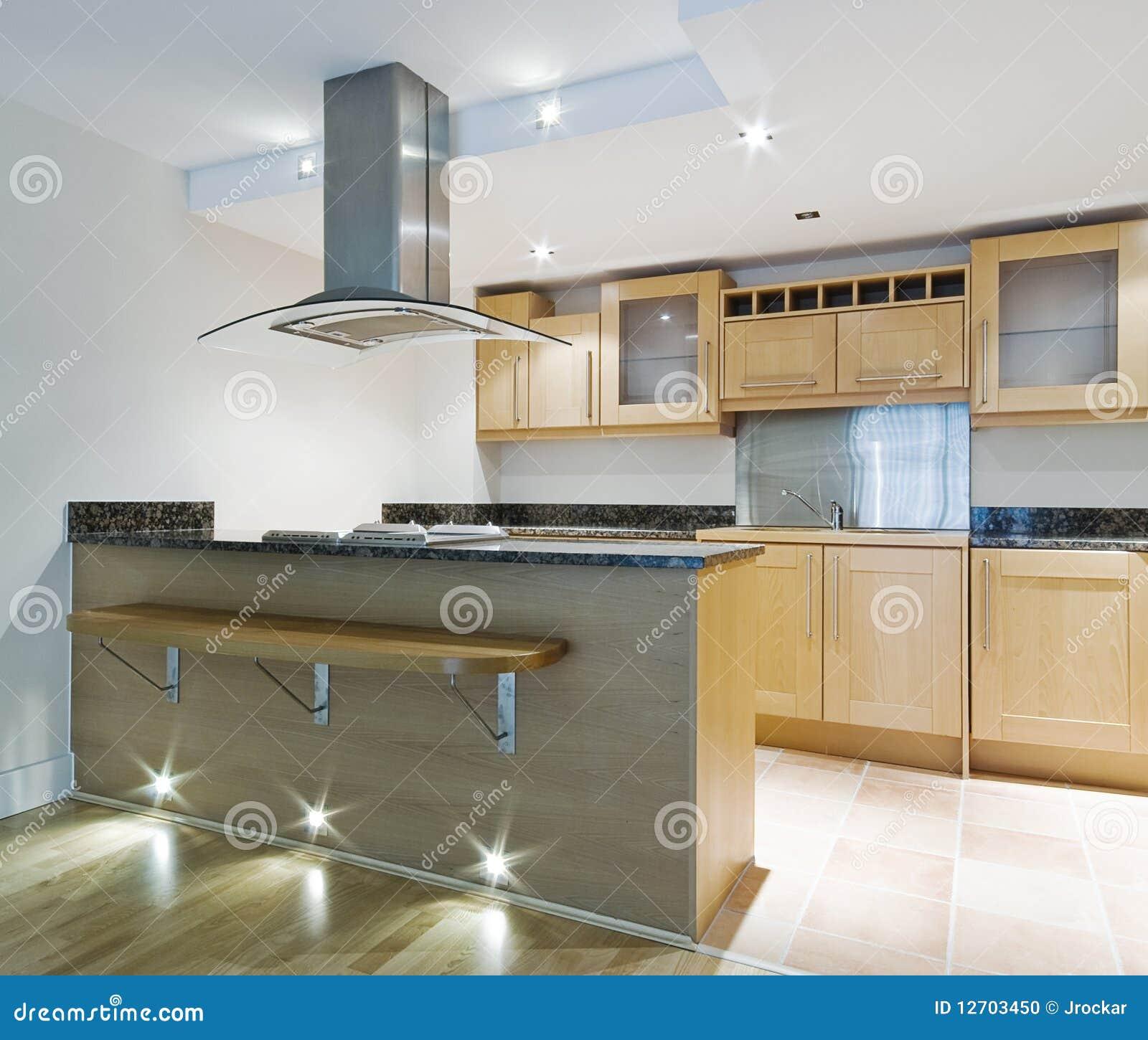 Ilha Da Cozinha Foto De Stock Imagem De Home Elemento 12703450
