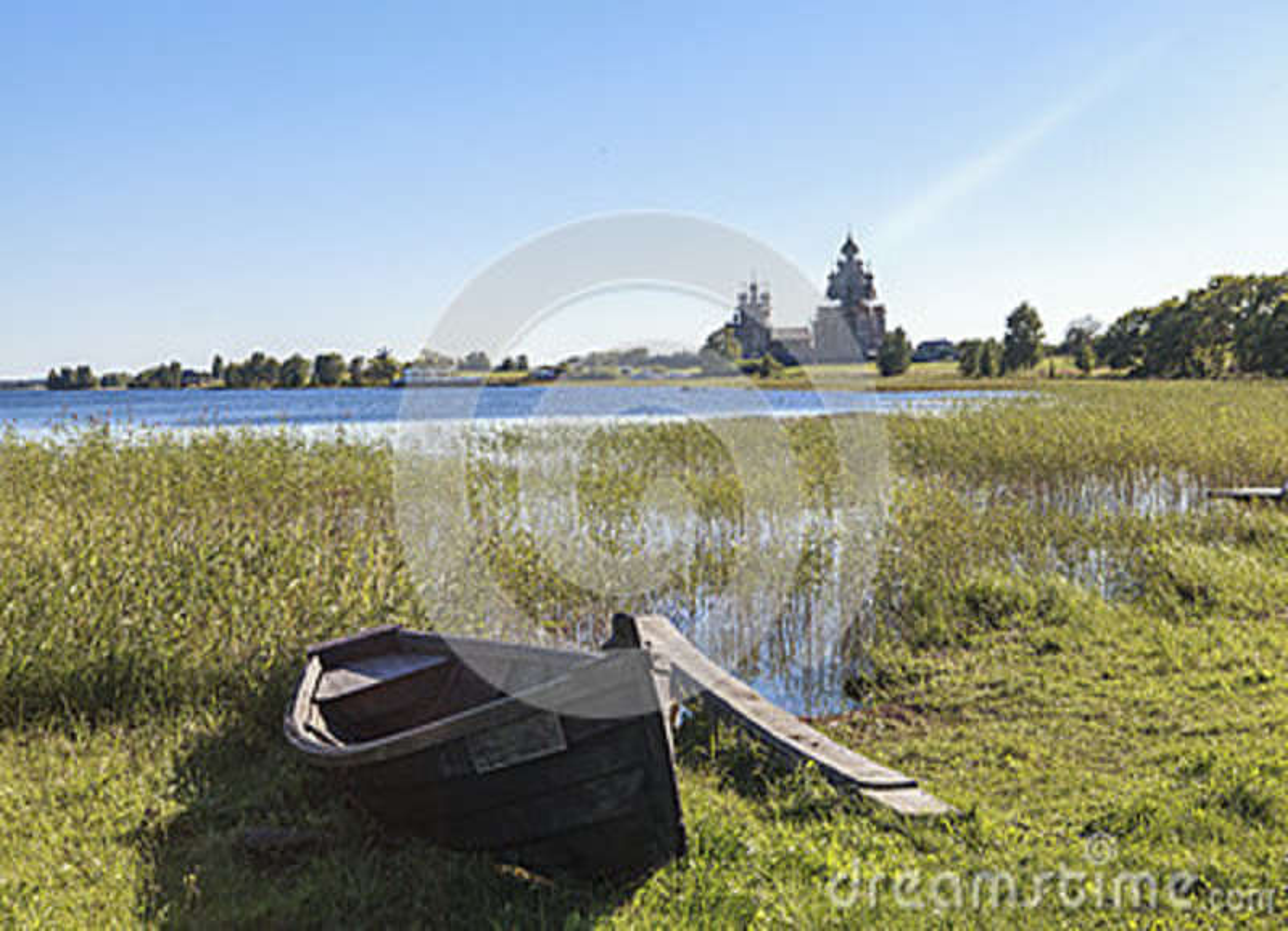 Ilha de Kizhi em Rússia