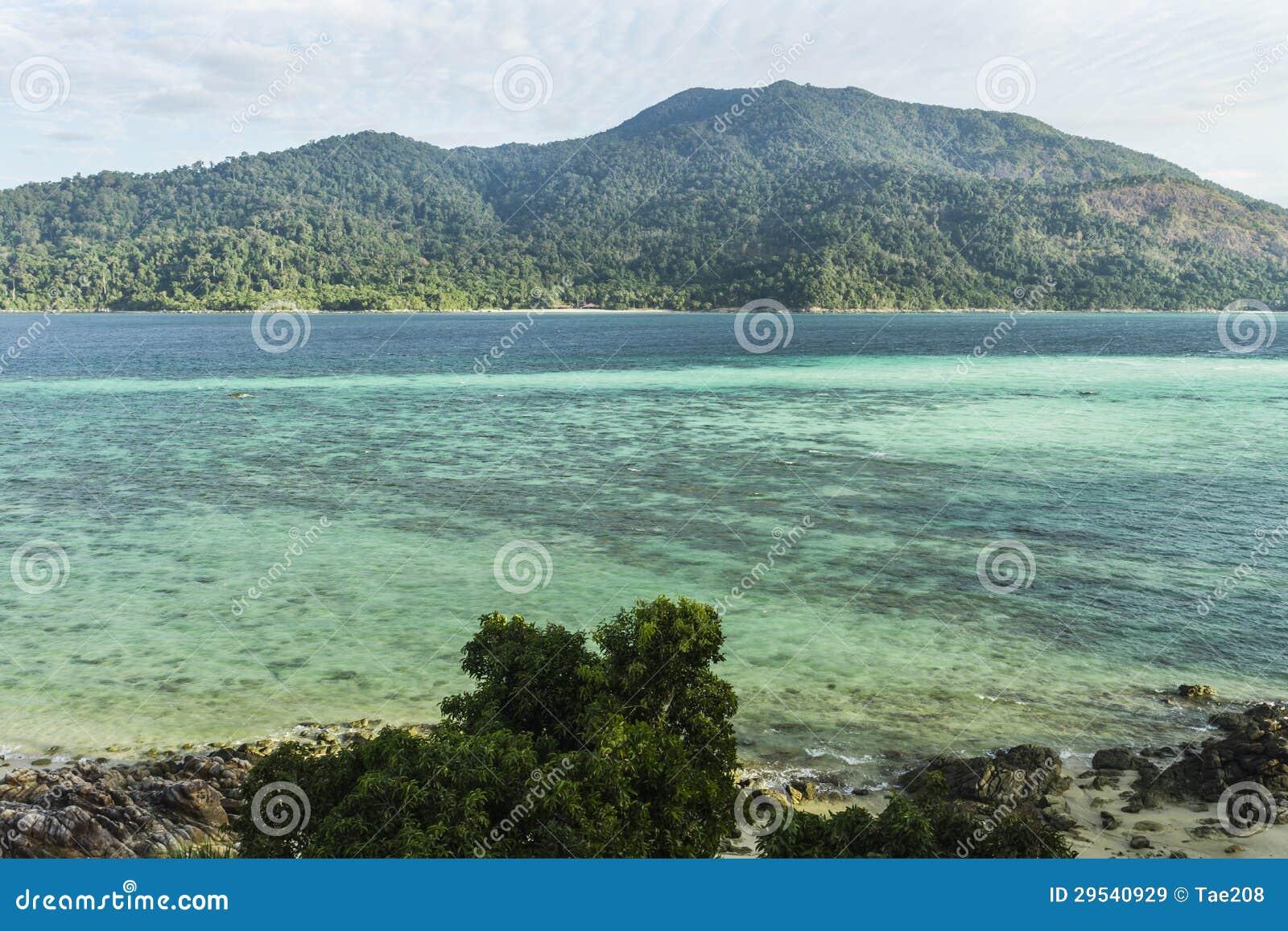 Ilha de Lipe em Tailândia