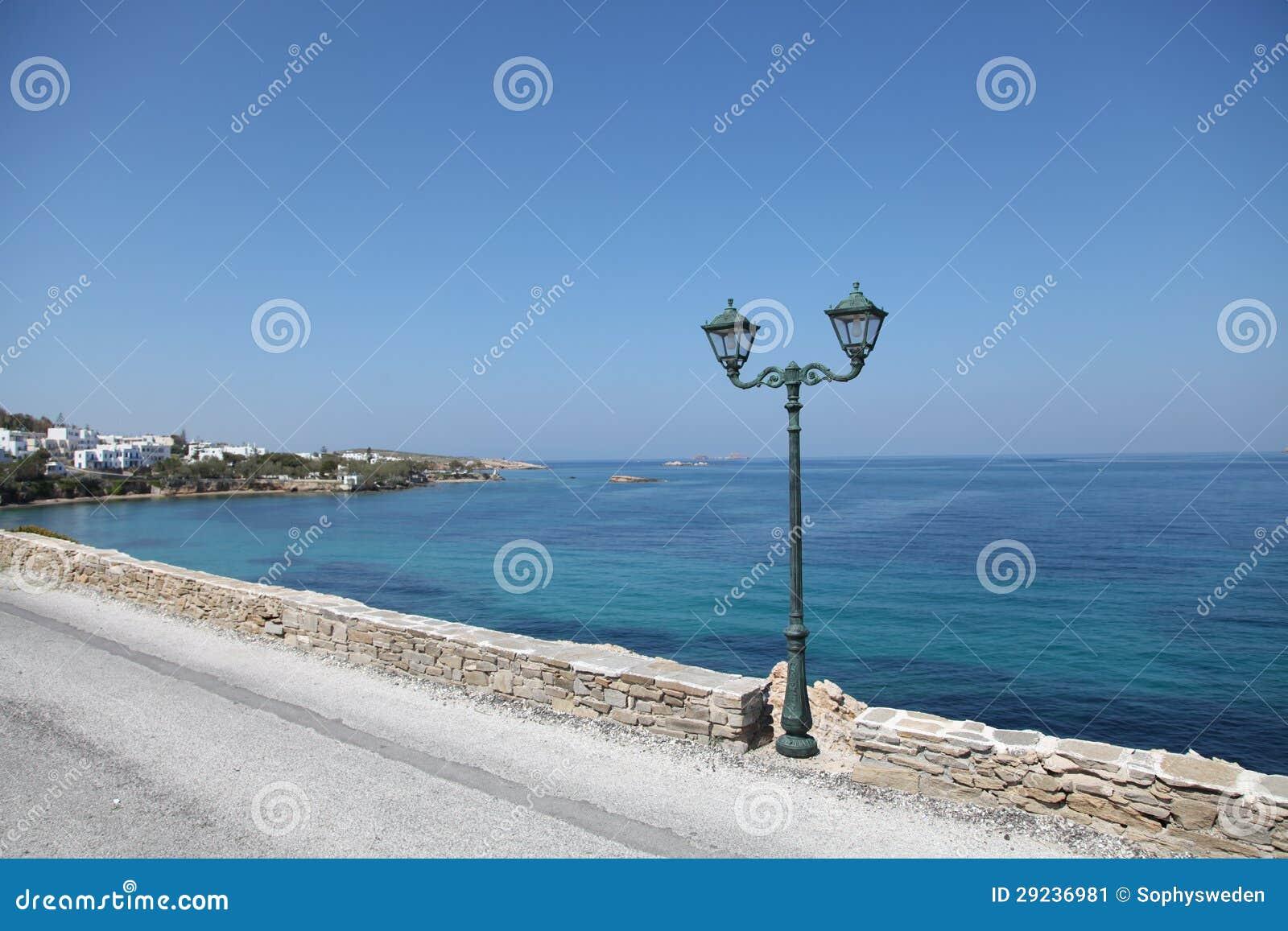 Download Ilha de Paros imagem de stock. Imagem de lâmpada, turquesa - 29236981