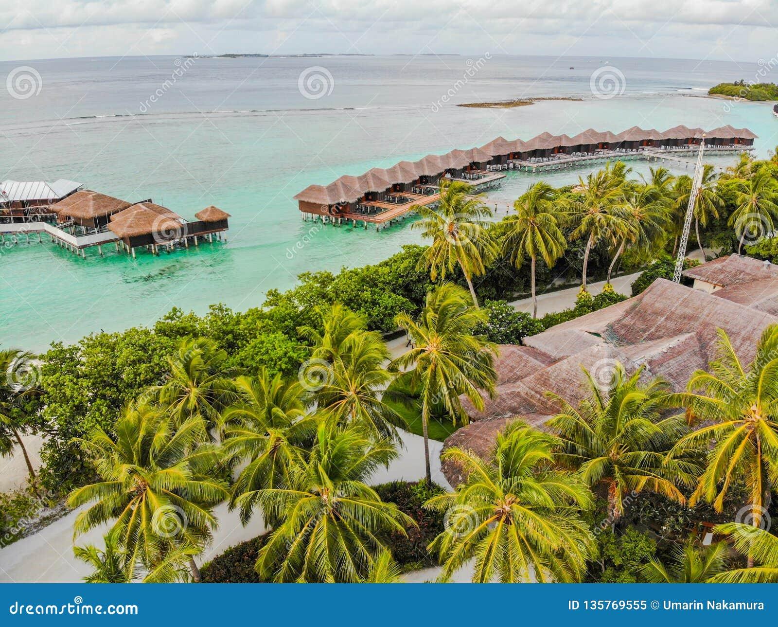 Ilha de surpresa em Maldivas