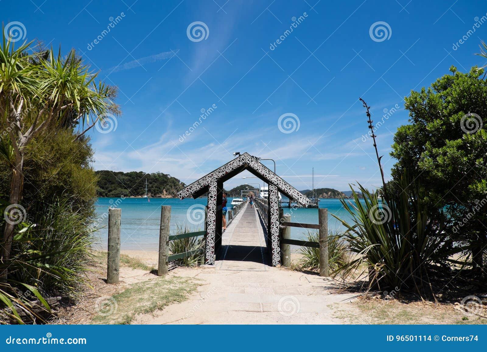 Ilha de Urupukapuka, baía das ilhas, Nova Zelândia, NZ - 1º de fevereiro