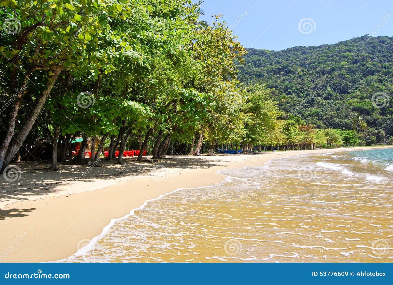 Ilha Grande: Plażowy Praia Lopes mendes, Rio De Janeiro stan, Brazylia