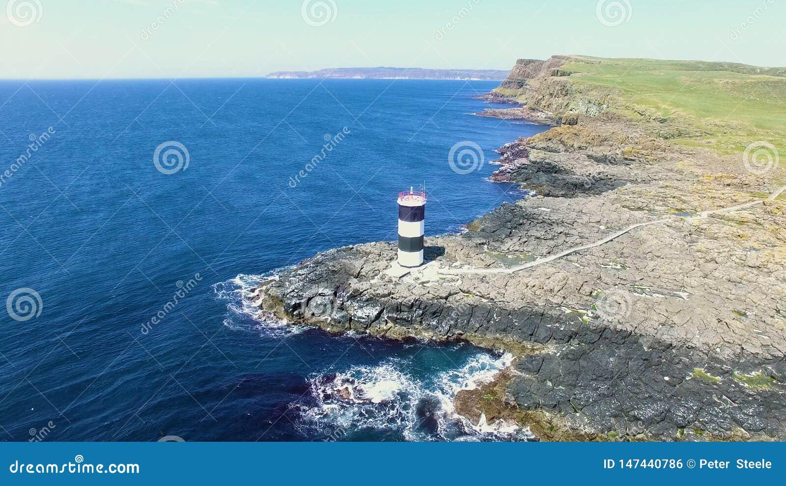 Ilha Oceano Atl?ntico Antrim Irlanda do Norte de Rathlin