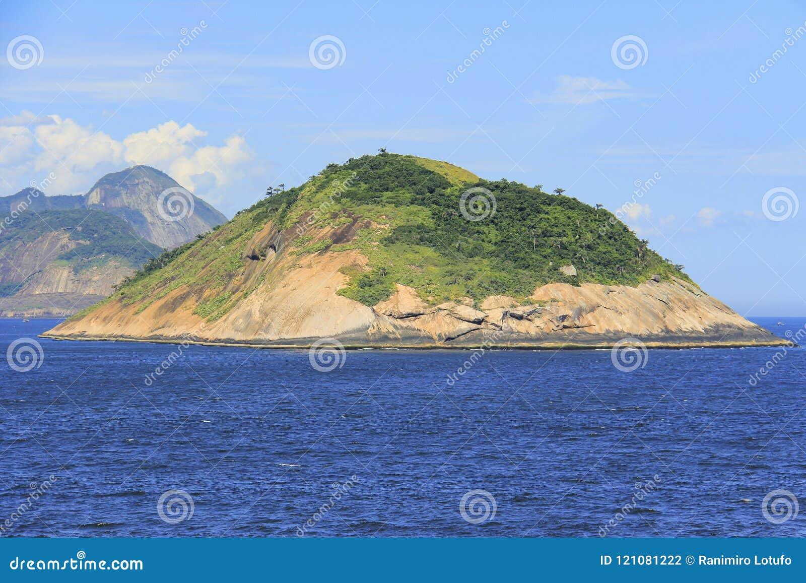 Ilhas em todo o mundo, ilha de Redonda em Rio de janeiro, Brasil