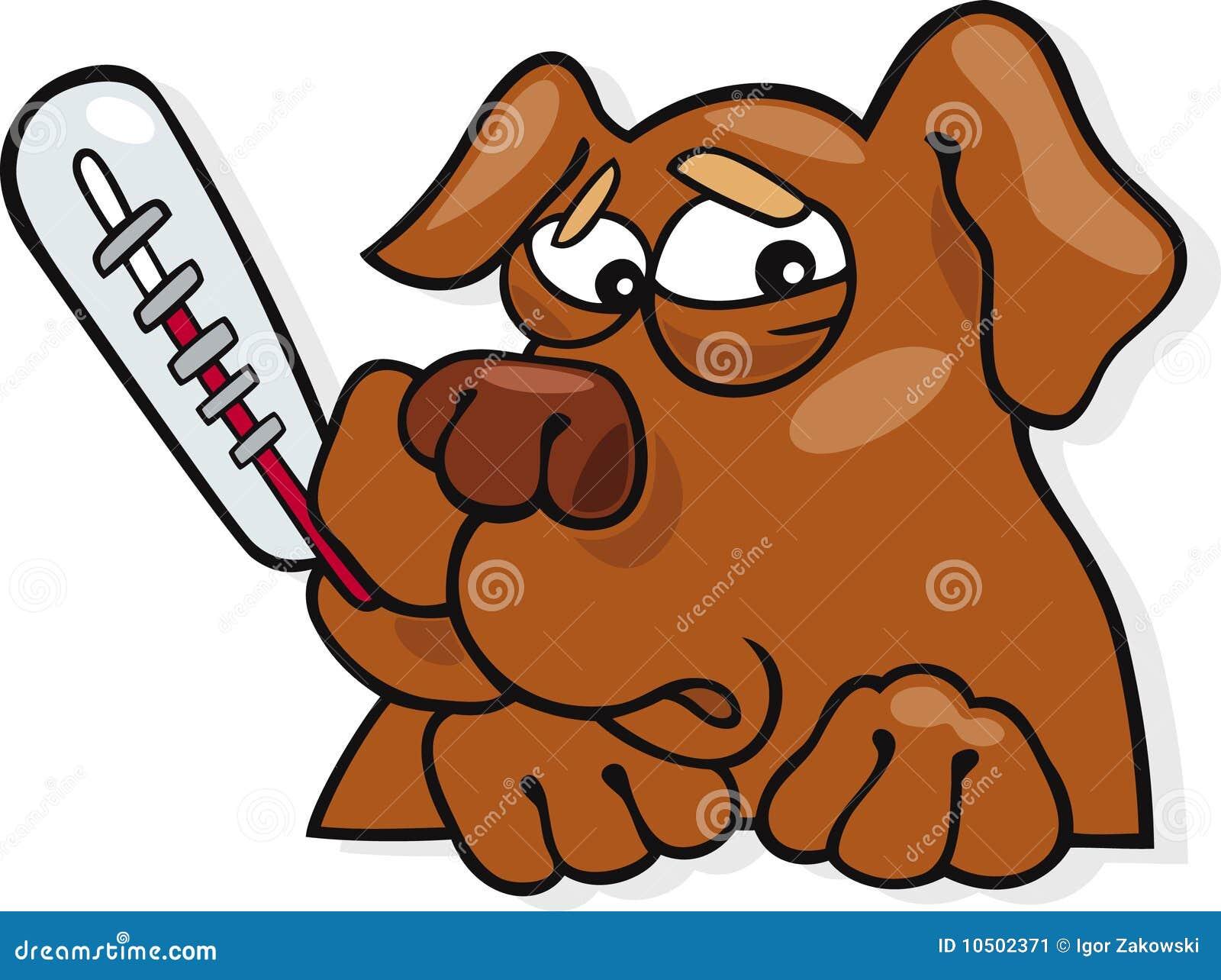 free clipart sick dog - photo #10