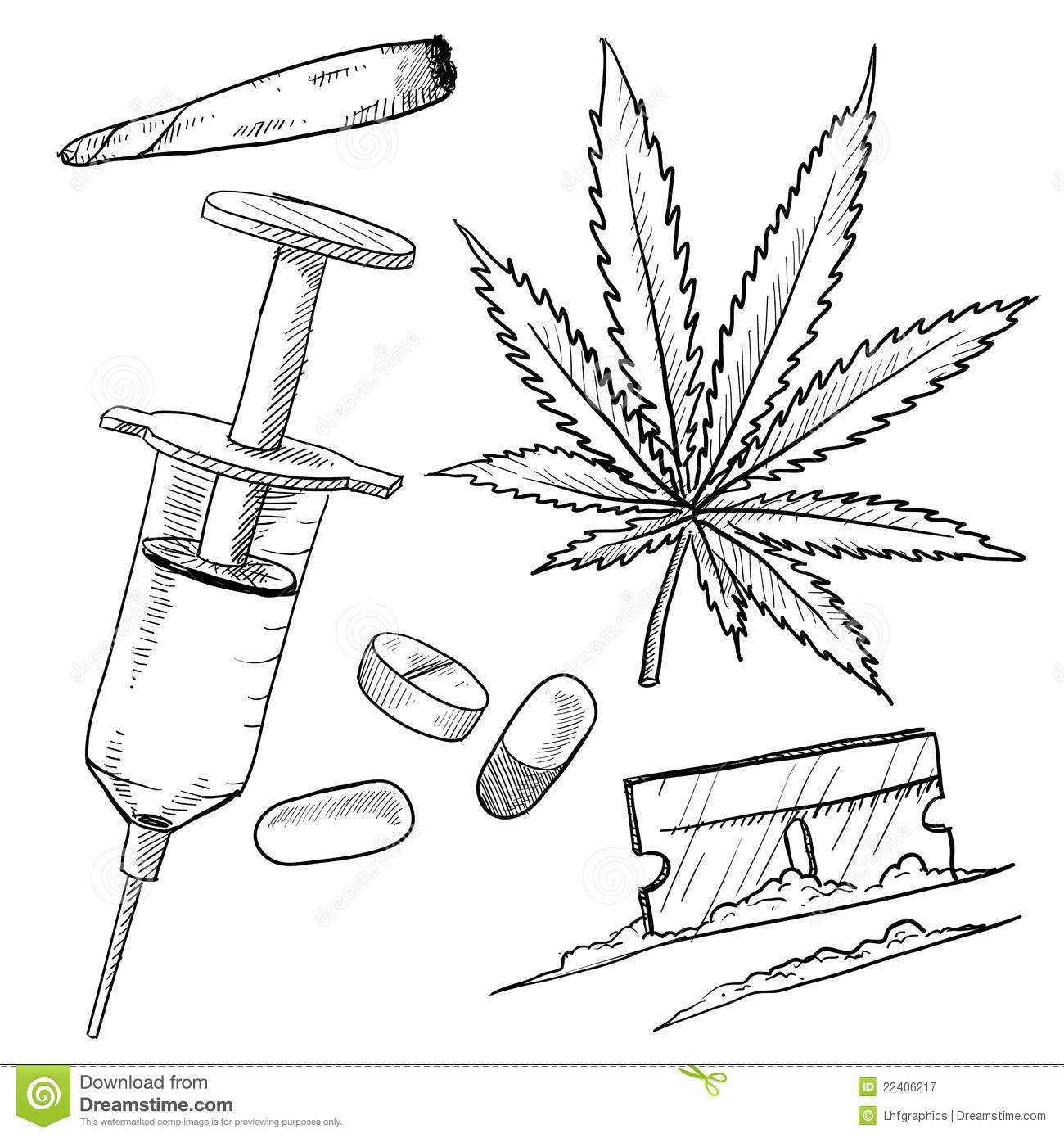 cocaine toucher coloring pages - photo#23