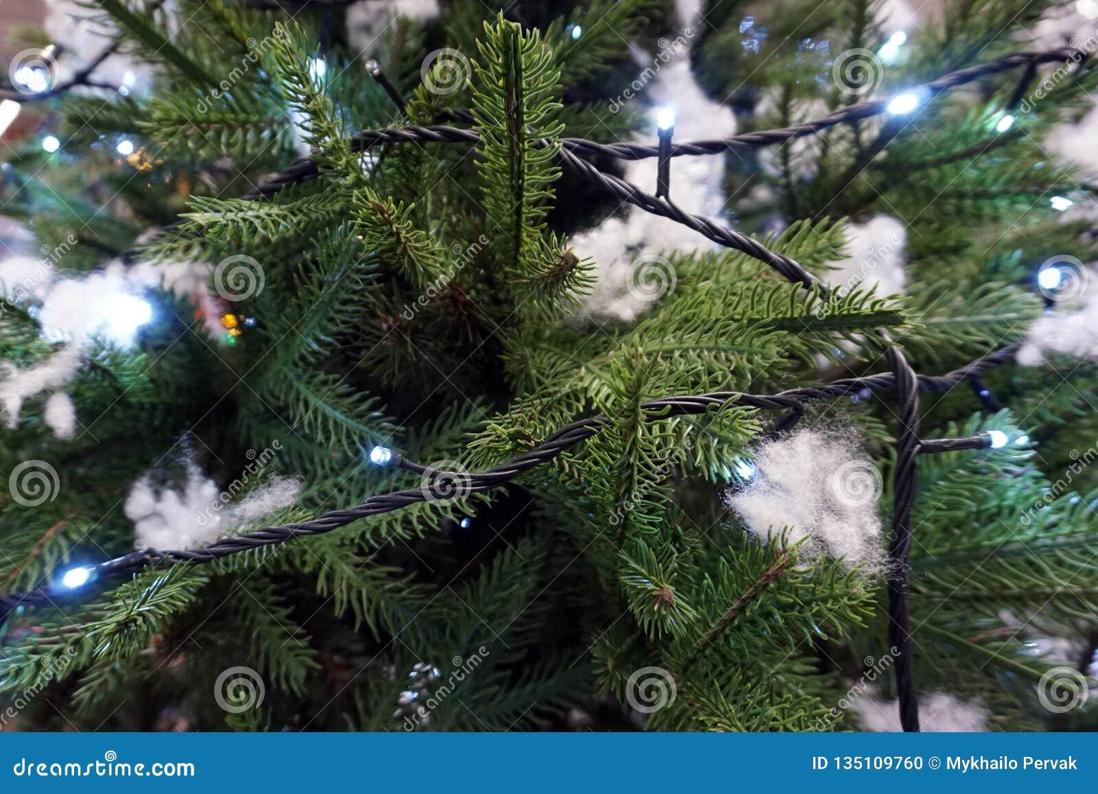 Illuminated christmas tree decoration for hollyday