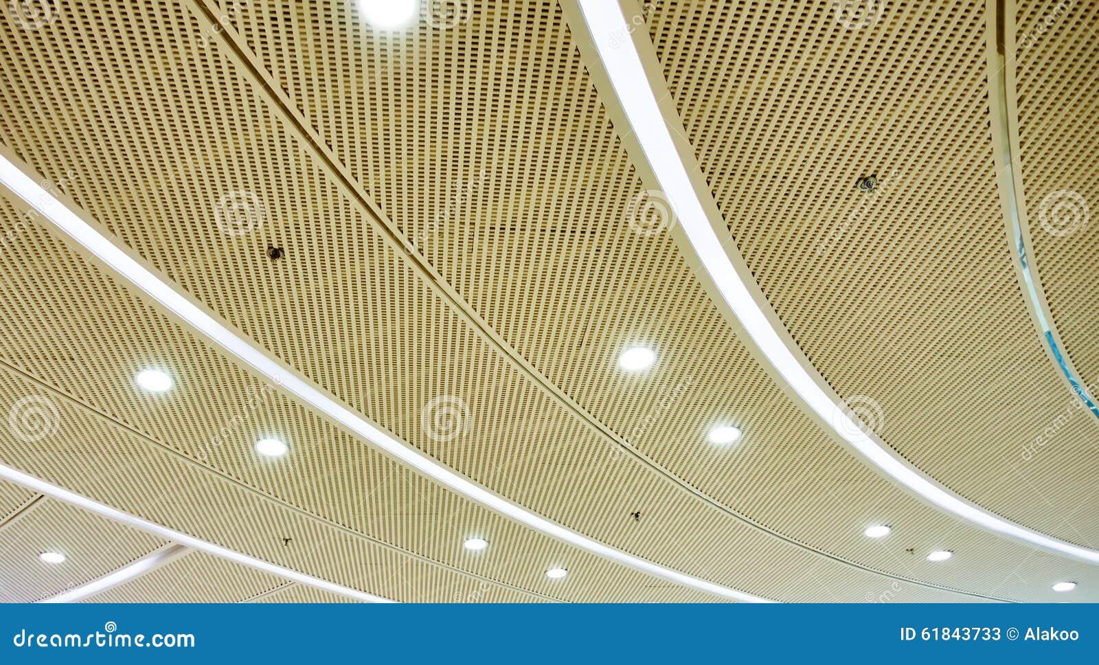 Illuminazione di soffitto del led immagine stock immagine di