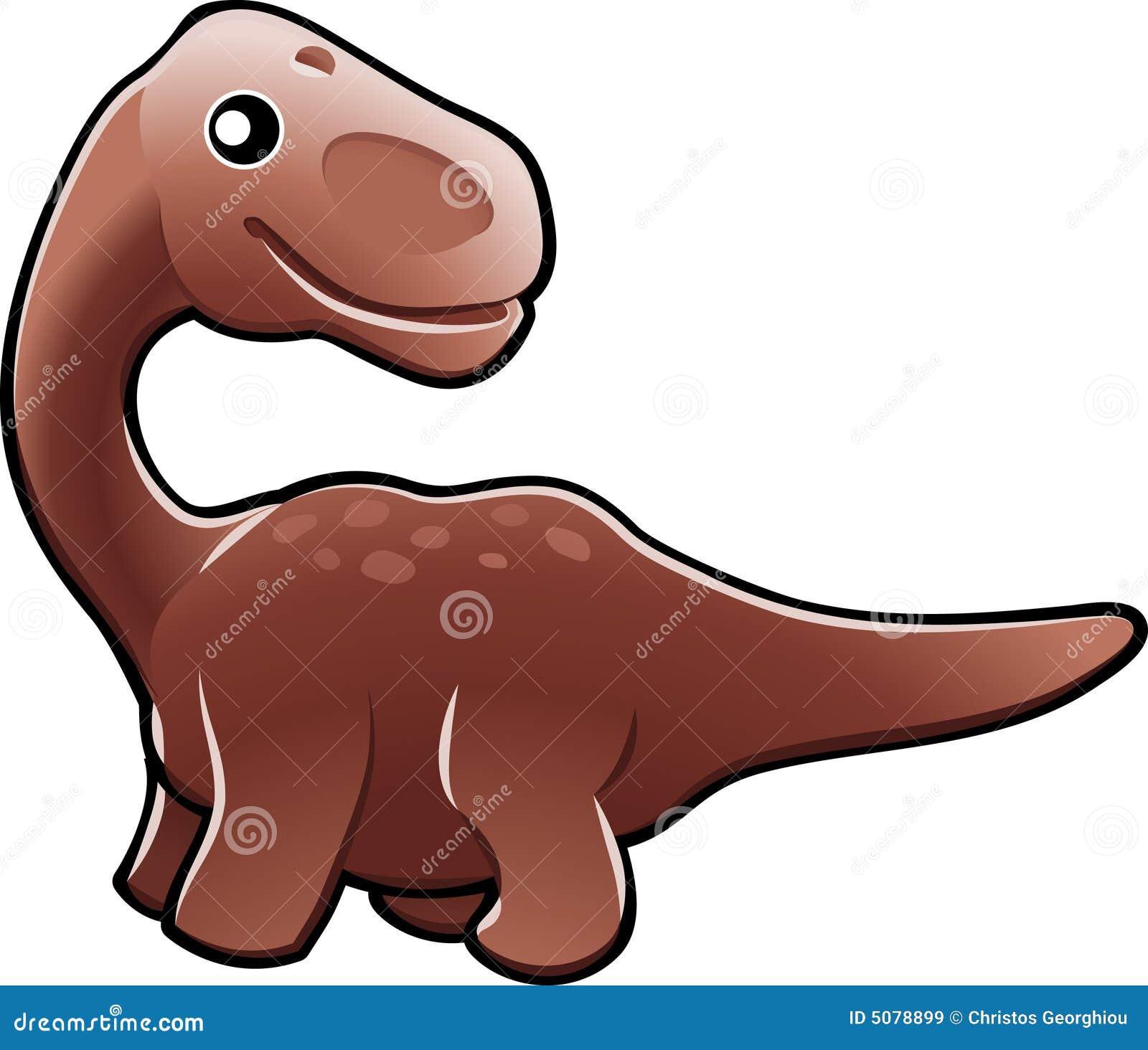 Illus bonito do dinossauro do diplodocus