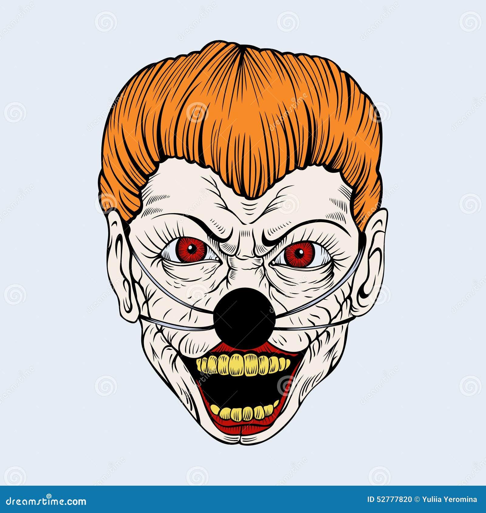 Zombie teeth icon cartoon style cartoon vector - Scary yellow eyes ...