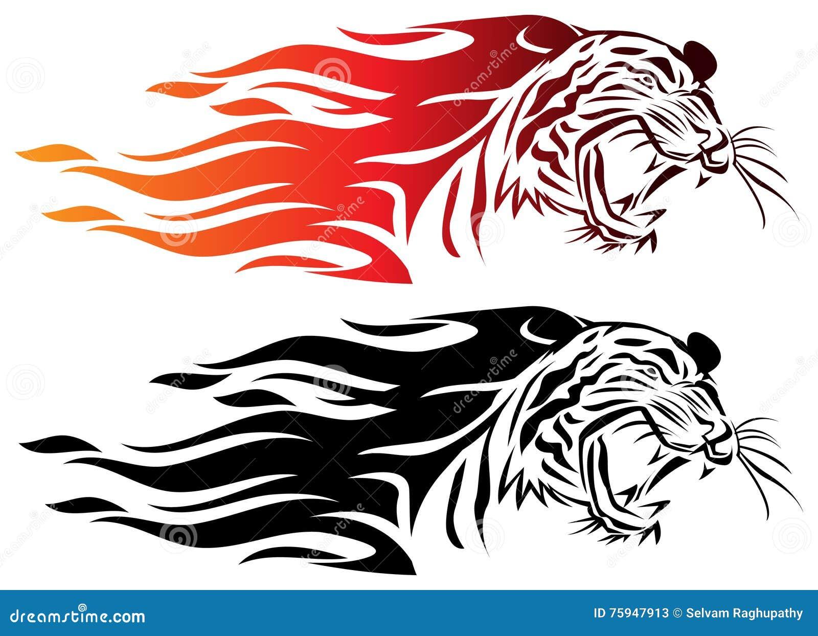 Illustratie op zwarte achtergrond voor ontwerp