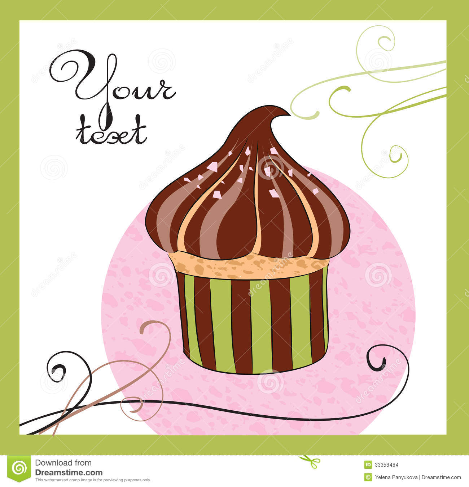 Illustraties van de cake