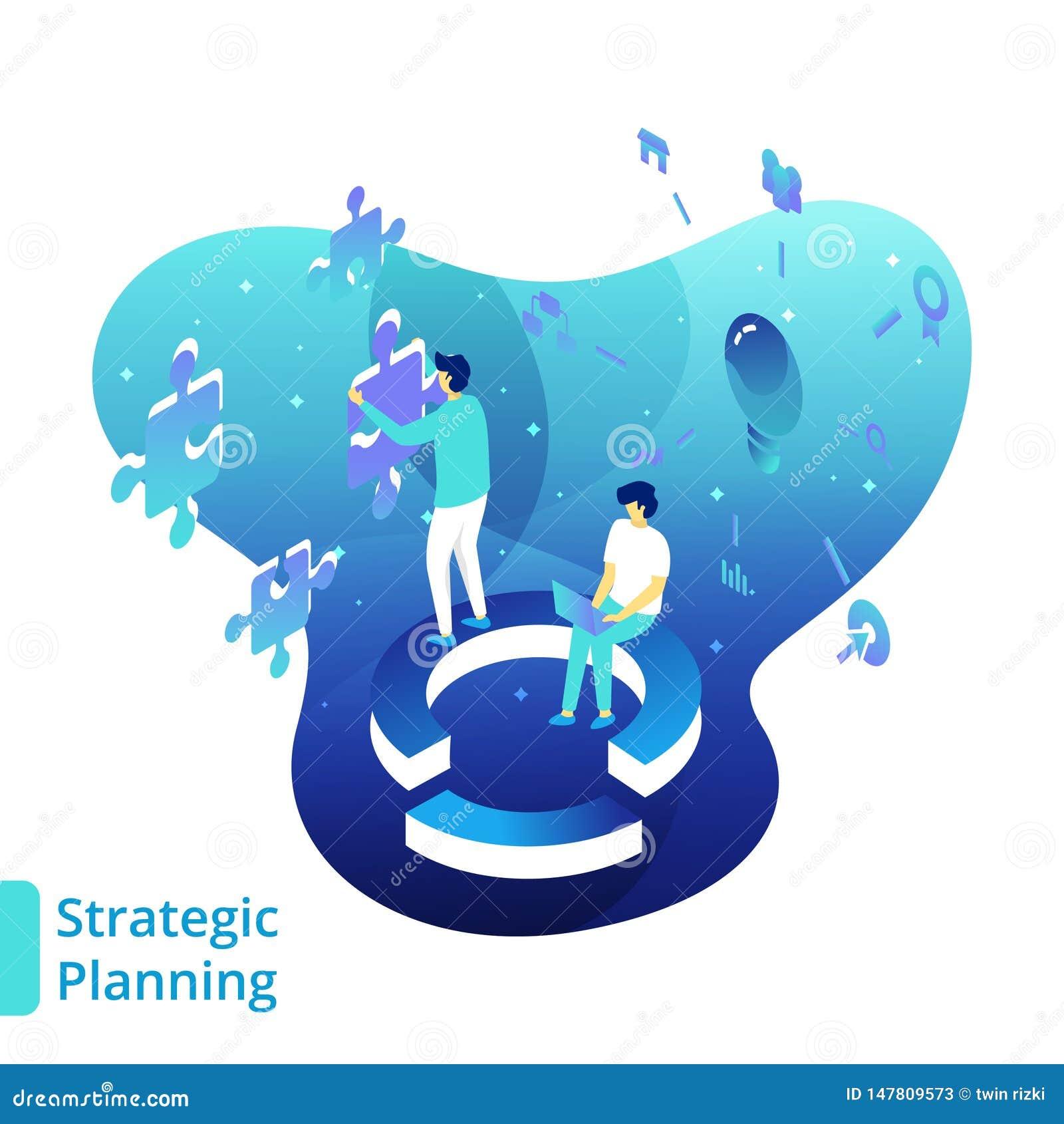 Illustratiestrategische planning
