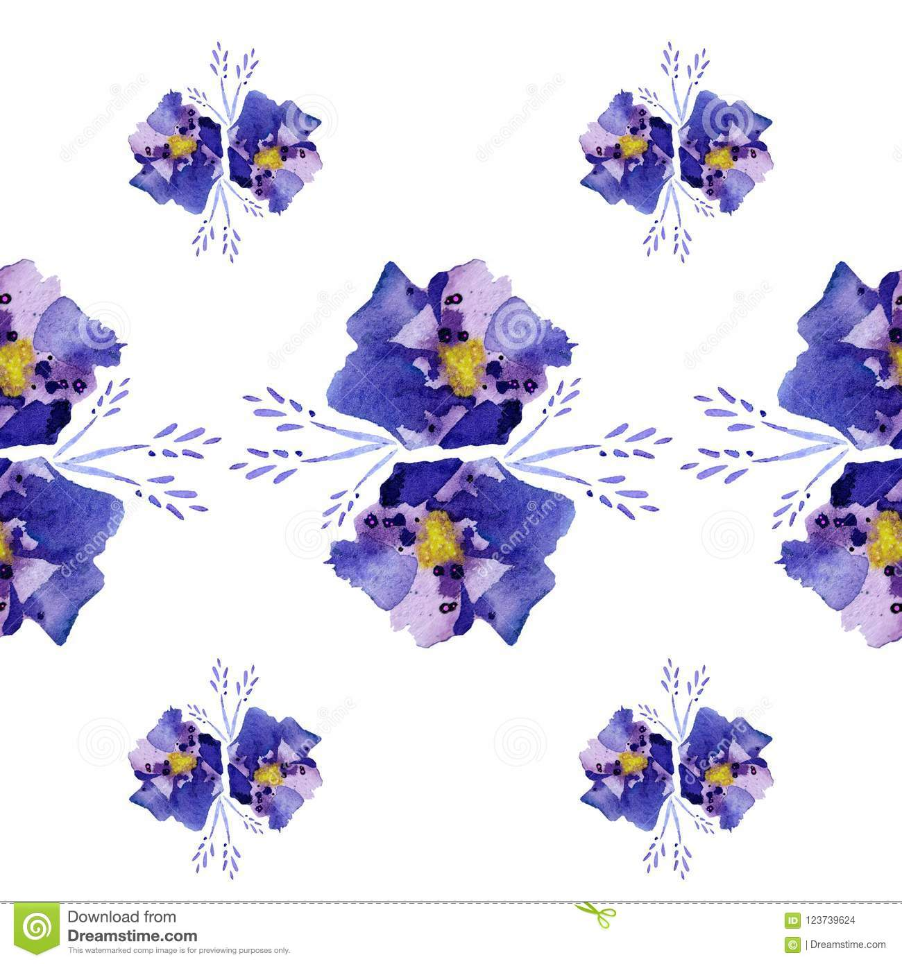 Illustration abstract blue flowers with vibes stock illustration download illustration abstract blue flowers with vibes stock illustration illustration of seamless collection izmirmasajfo