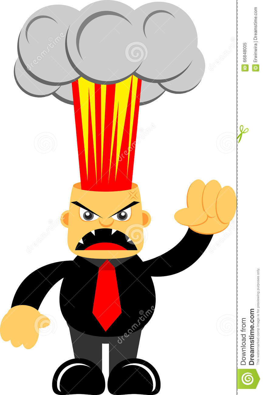 angry manager clipart - photo #45