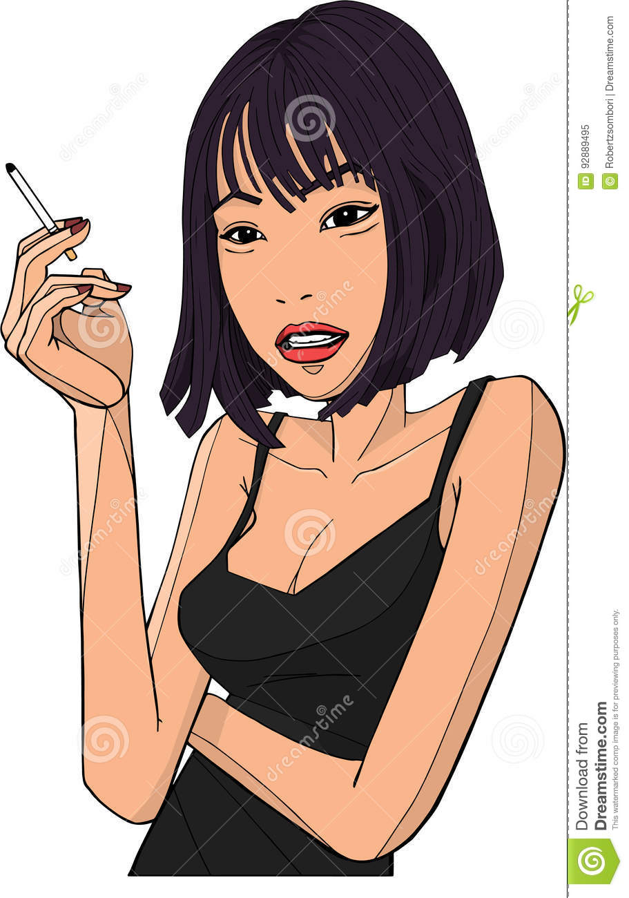 Think, that asian girl illustration congratulate