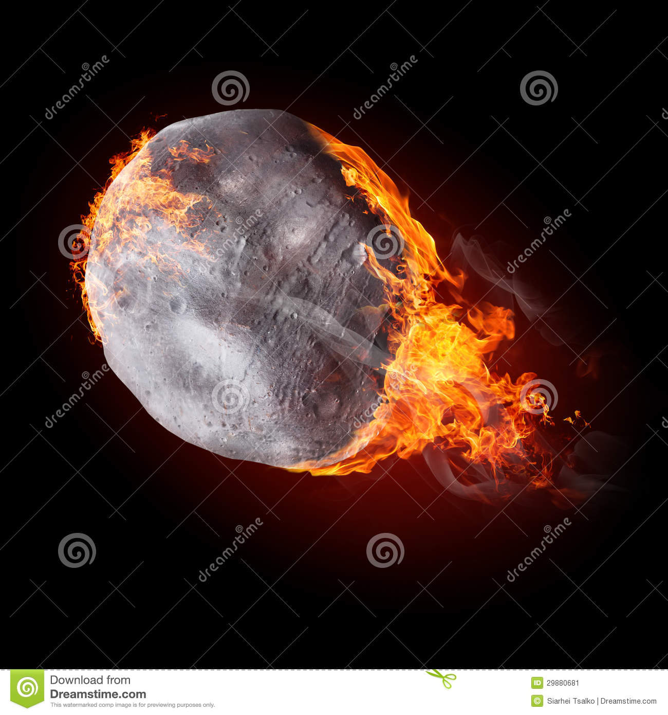 Objects On Fire Stock Image - Image: 29880681