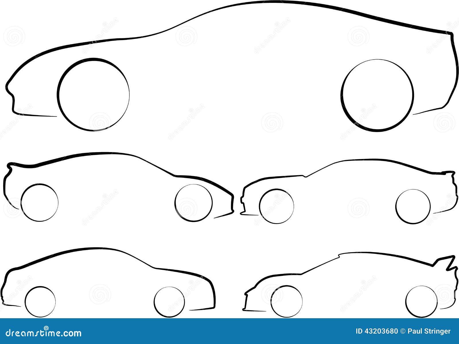 Download Illustration Av översikter Av Bilar Stock Illustrationer - Illustration av isolerat, symbol: 43203680