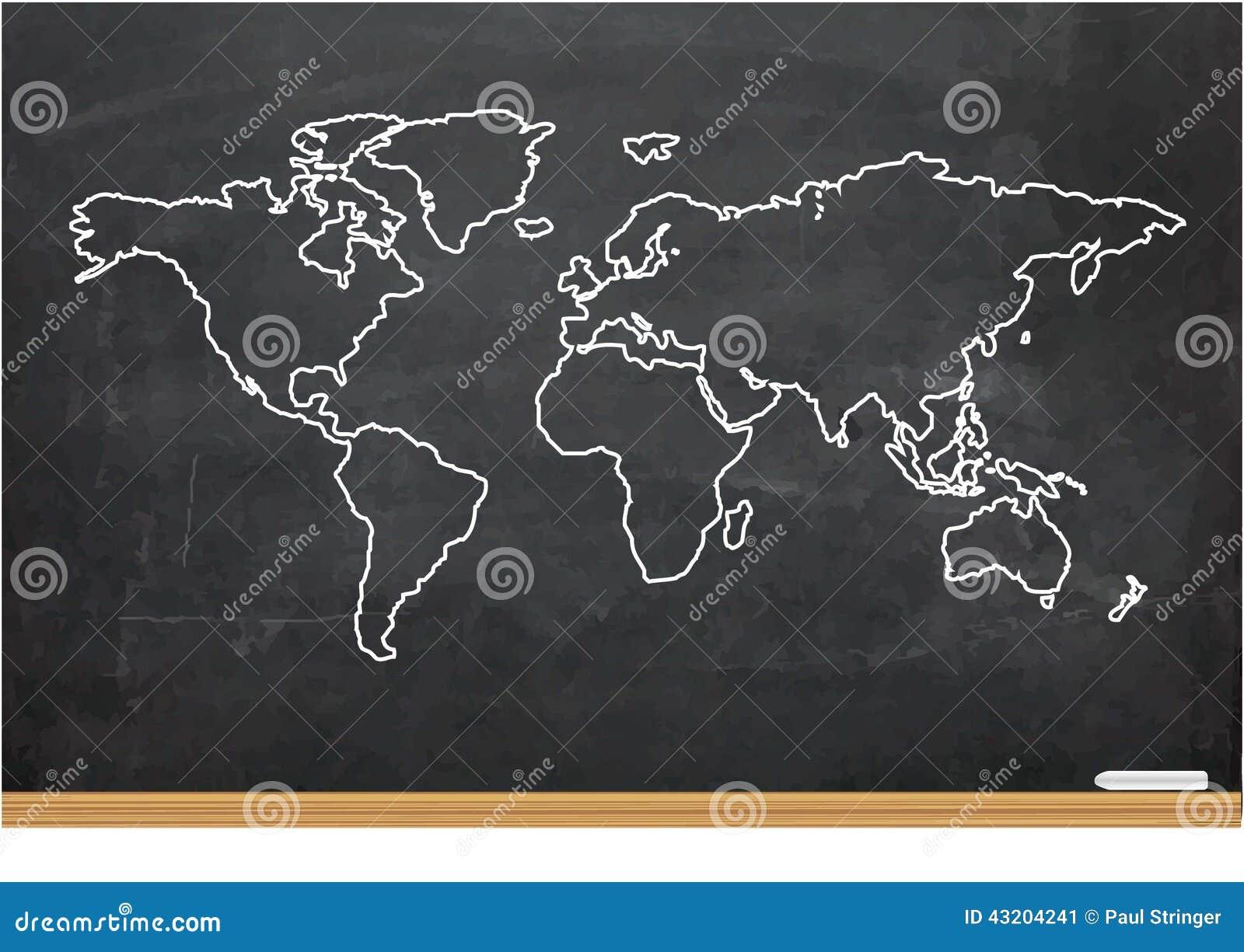 Download Illustration Av Världskartor Stock Illustrationer - Illustration av utbildning, modernt: 43204241