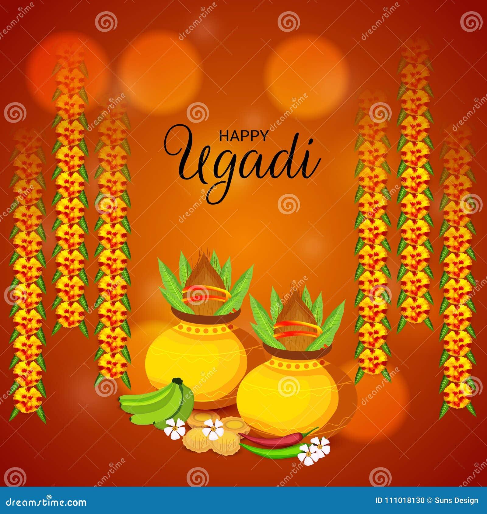 Happy Ugadi Hindu New Year.
