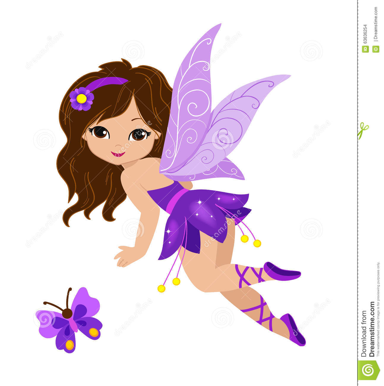 fantasy butterflies purple