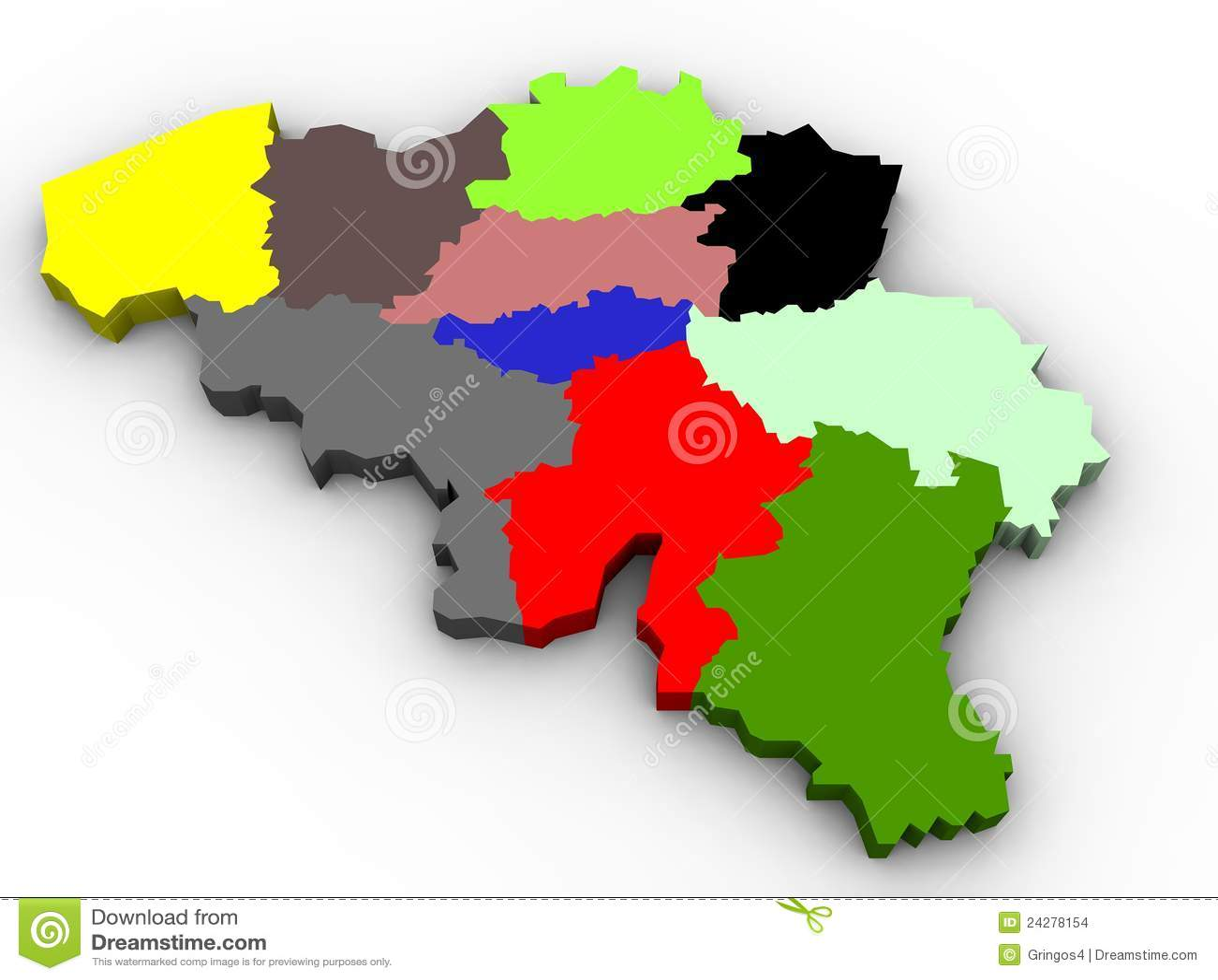 Illustration Of The Belgium Provinces Map Images Image – Belgium Provinces Map
