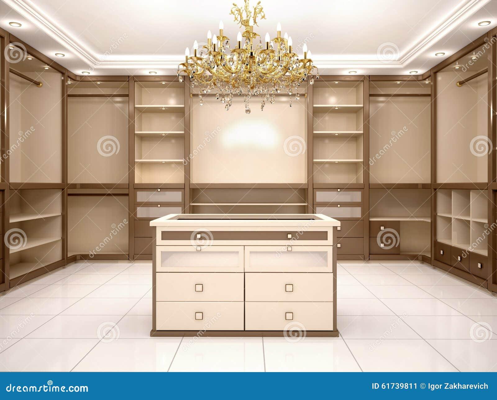 empty walk in closet. Download Illustration Of Big Empty Walk In Wardrobe Luxurious House  Stock - Of Empty Walk In Closet G