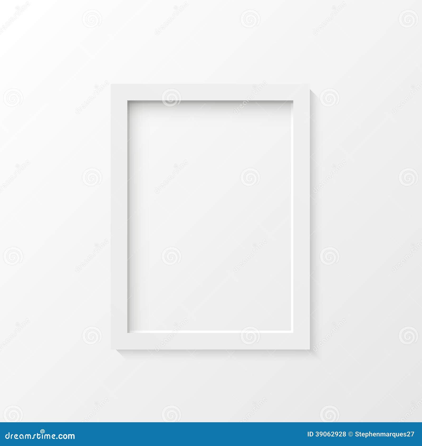Illustration blanche de cadre de tableau illustration de - Image de cadre de tableau ...