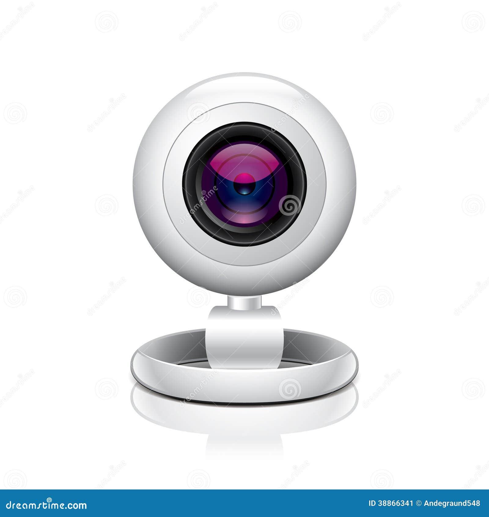 illustration blanche de vecteur de webcam illustration de vecteur illustration du ordinateur. Black Bedroom Furniture Sets. Home Design Ideas