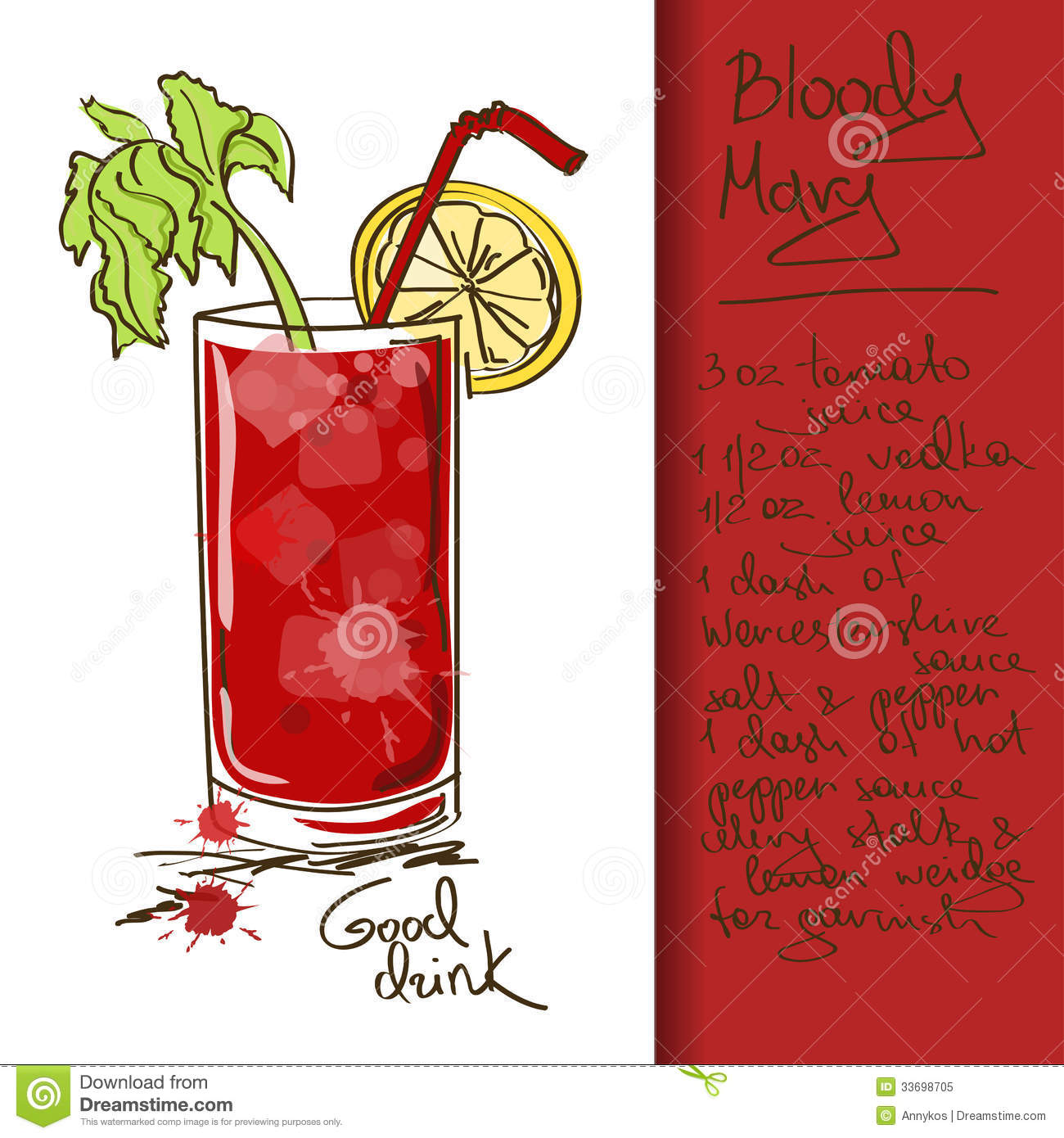 bloody mary drink clipart - photo #15