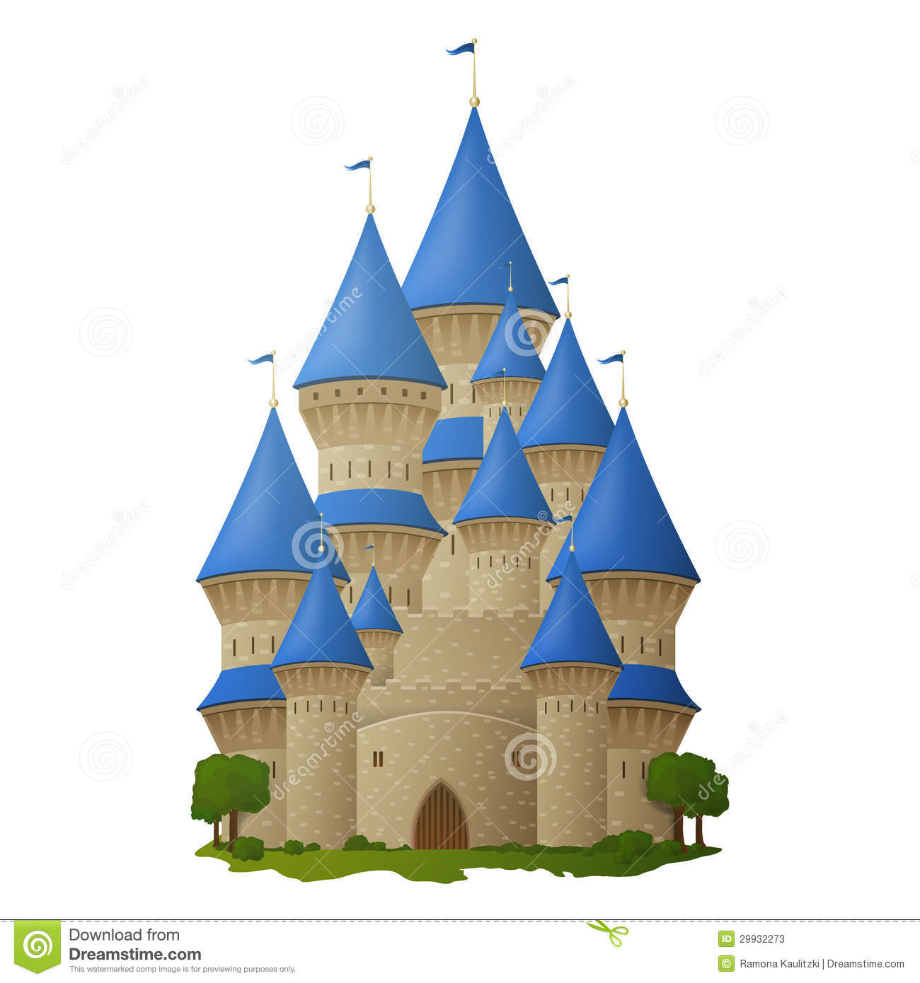 Princess Castle Stock Photos - Image: 29932273